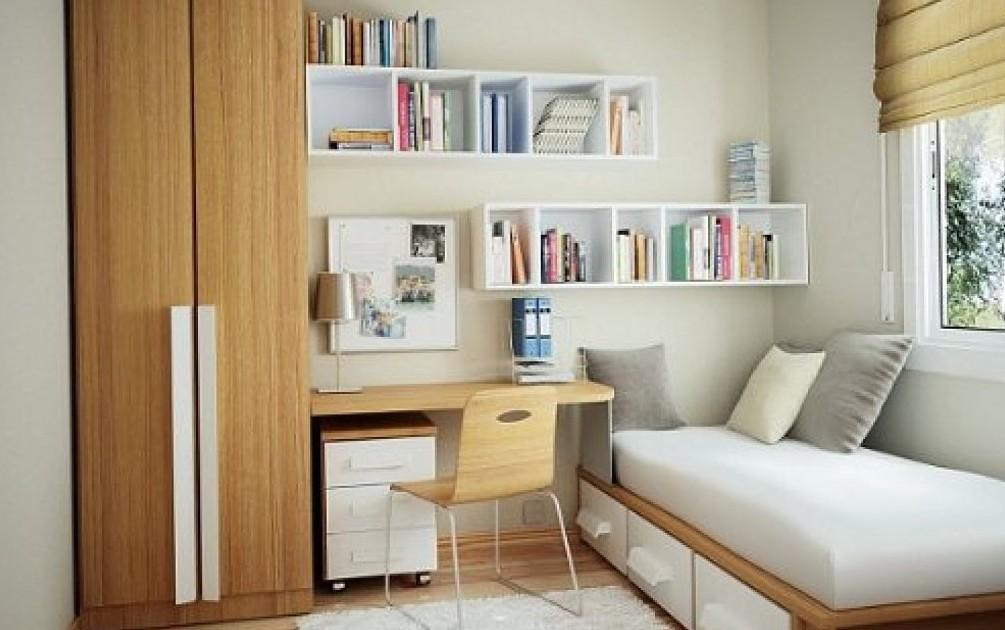 abaratar costos, dormitorio escritorio