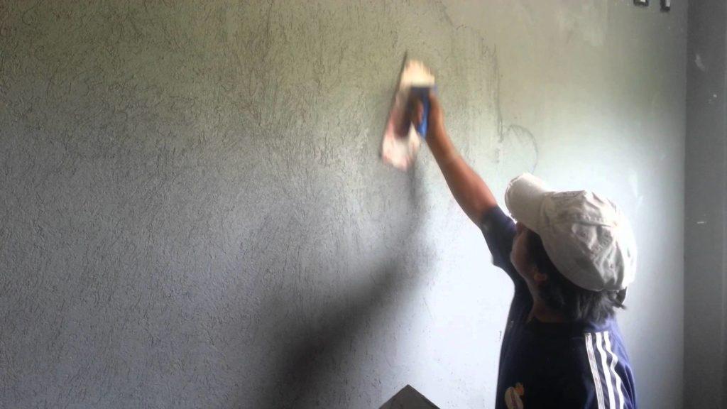 revoque plástico para muros