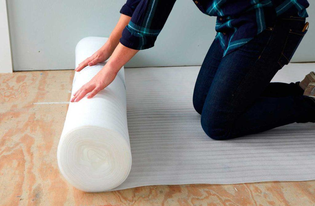 como instalar piso flotante