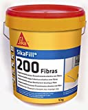 Sikafill-200 fibras, Pintura elástica con fibras para...
