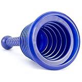Desatascador tuberías manual para wc, fregadero, ducha, baño o desagües. Desatascador...