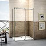 140x195cm Mamparas de ducha puerta de ducha 8mm vidrio...