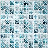 Ecoart Decorativos Adhesivos Para Azulejos Pegatina de pared, Azulejos de gel, diseño de...