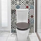 72 (Piezas) Adhesivo para Azulejos 10x10 cm - PS00152 - Ginevra - Adhesivo Decorativo para...