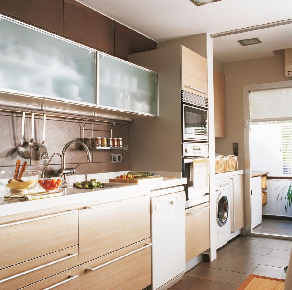 ahorrar al construir (cocina lavadero)