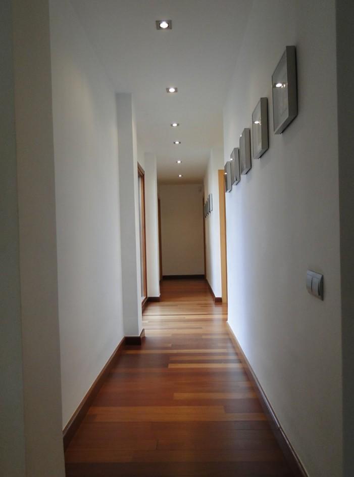 ahorrar al construir (pasillos largos)