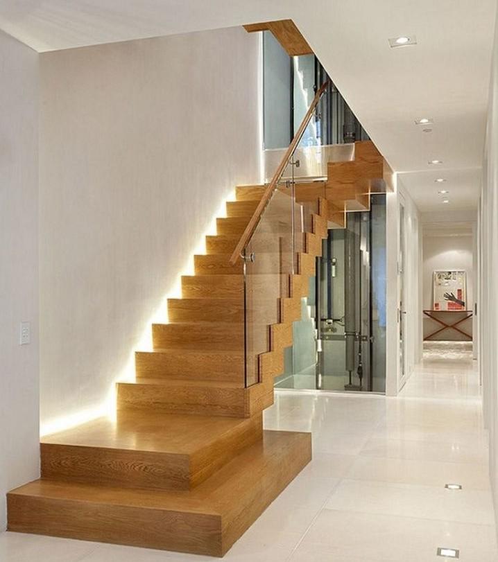 como hacer una escalera en poco espacio