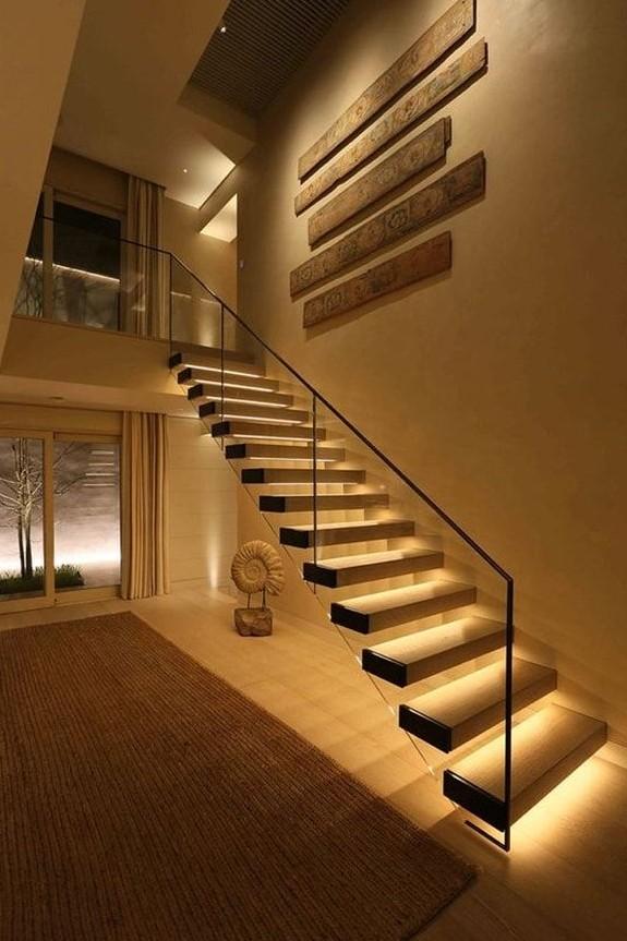 escaleras de un tramo