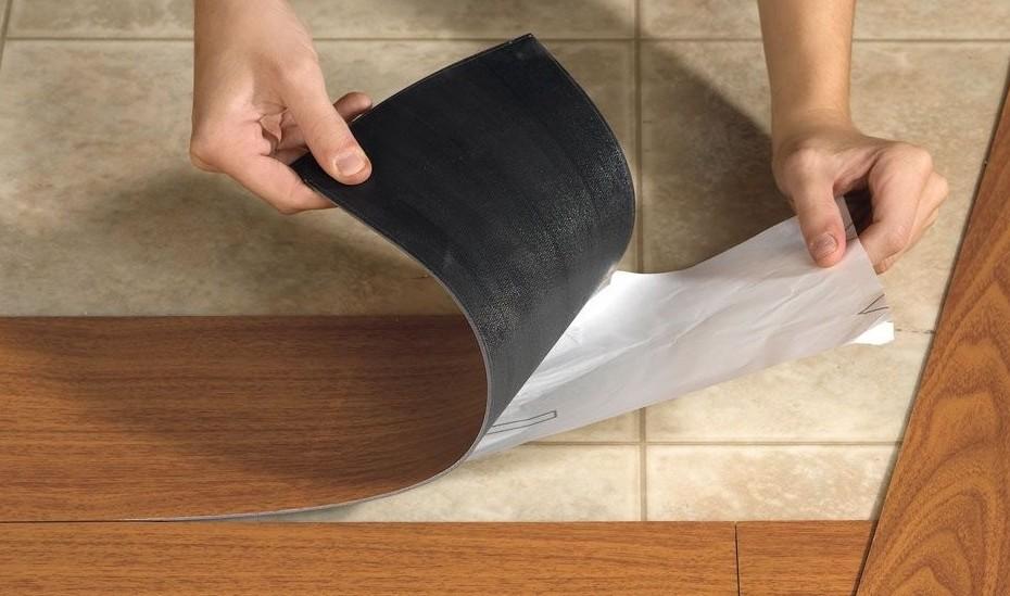 suelos vinílicos adhesivos