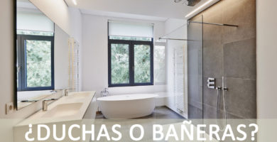 duchas y bañeras