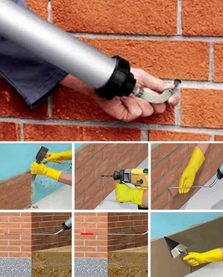 tratamiento humedad de cimientos