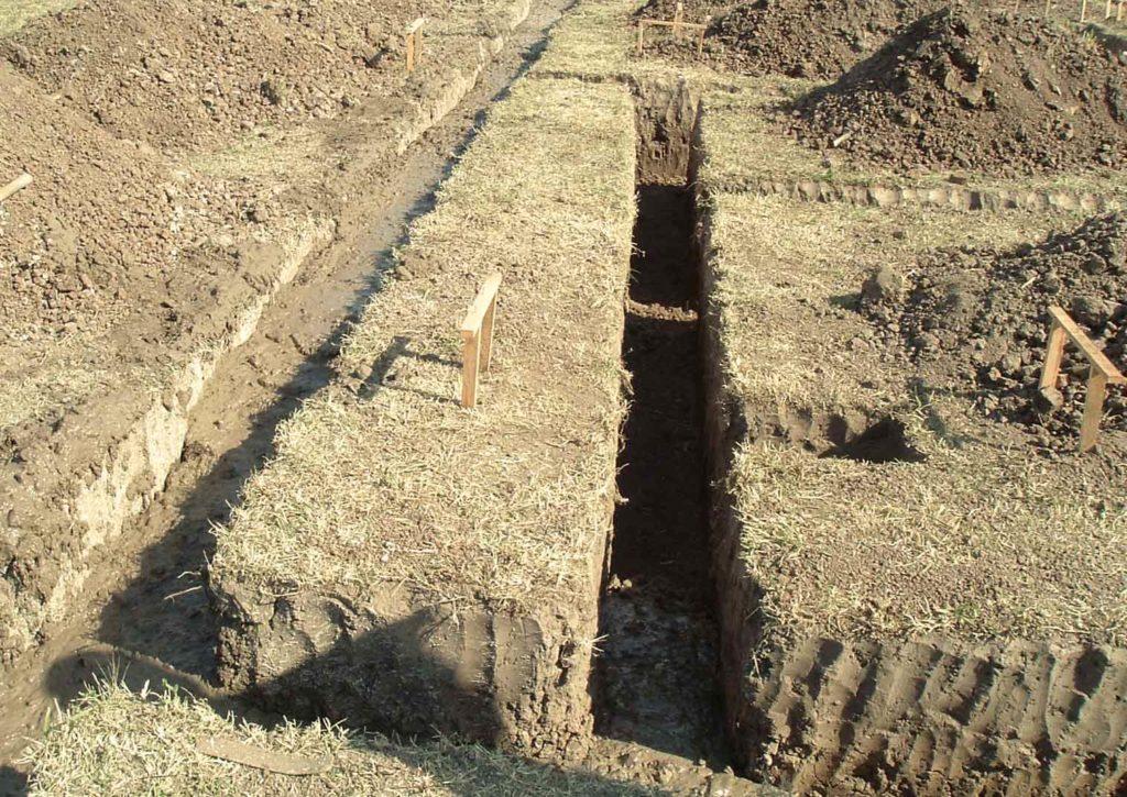 como construir cimientos