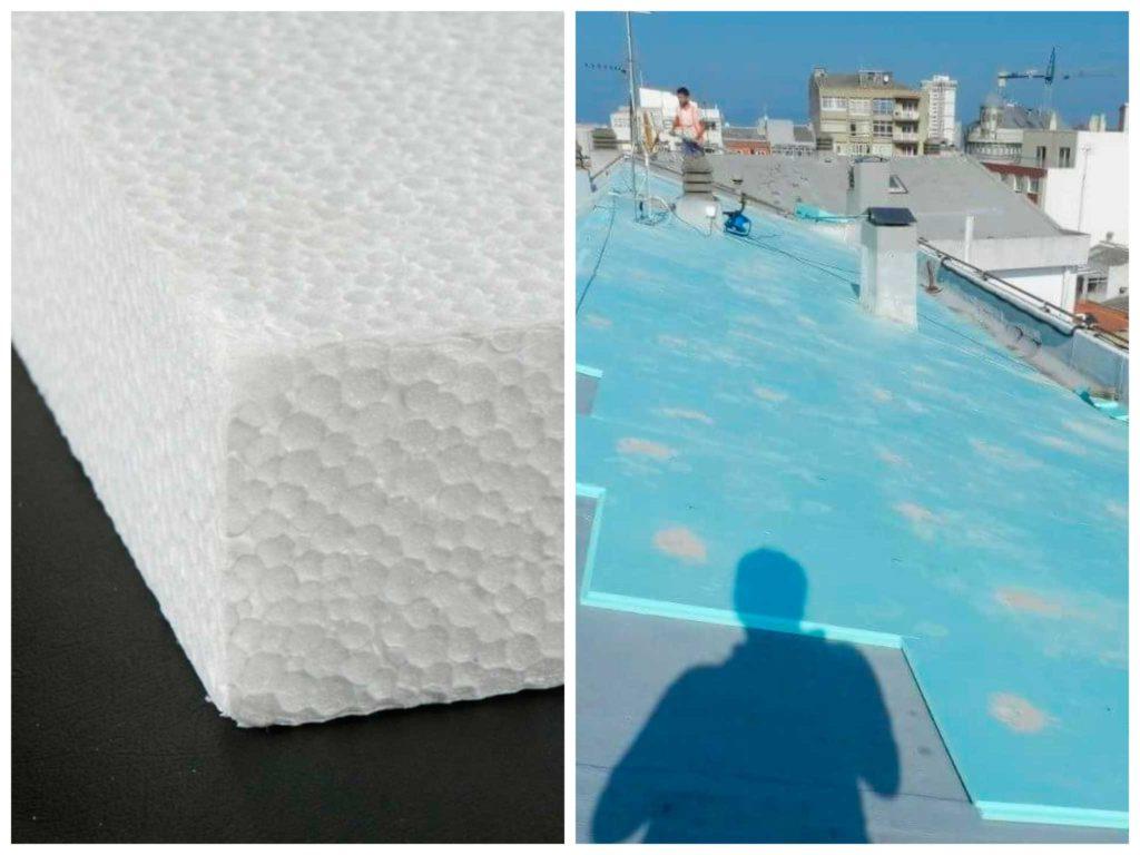 aislante térmico para techos poliestireno expandido