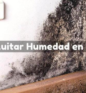 como quitar humedad en paredes